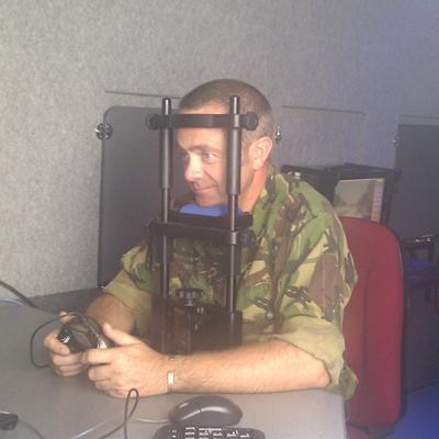 Using eye-tracking equipment