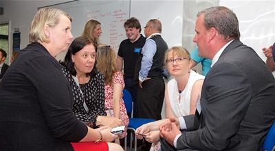 conversations at the ACoRNS Launch Event