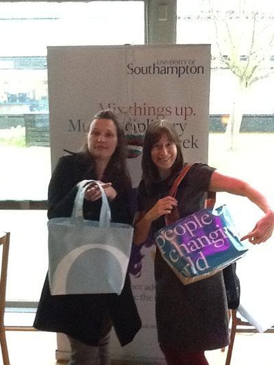 Frances Clarke & Mylene Ployaert become a' Green Shopper'