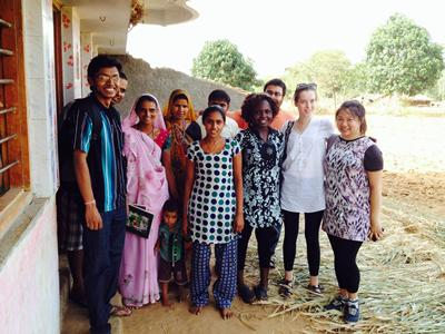 In its 3rd year, the trip gives students an opportunity to see Indian social enterprise ecosystem