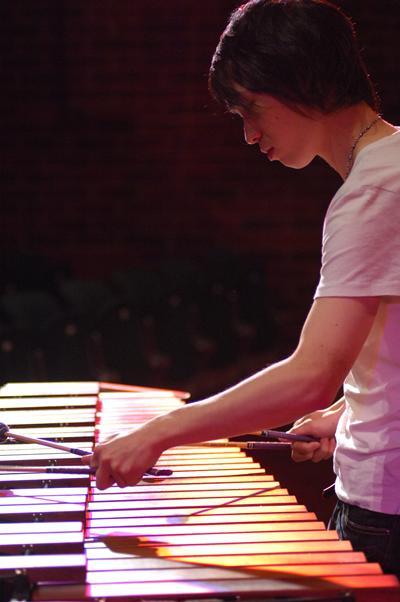 Percussion facilities in Music