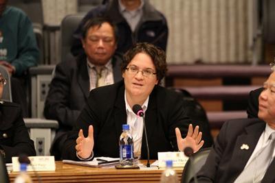 Dr Athina Vlachantoni at the Inaugural WUN Global China Conference
