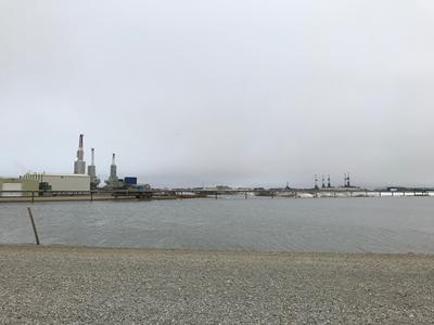 Conventional development at the Prudhoe Bay oilfield, Alaska