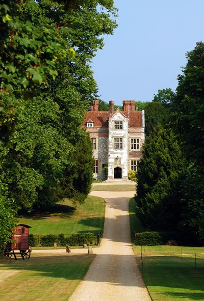 Chawton House is home to a unique collection of books focusing on women's writing in English from 1600 to 1830, including the works of Jane Austen