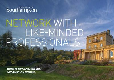 University of Southampton Summer Networking and Information Evening