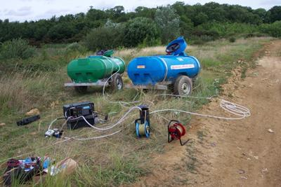 ..to determine contaminant transport properties of waste