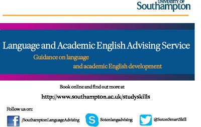 Languages and Academic English Advising