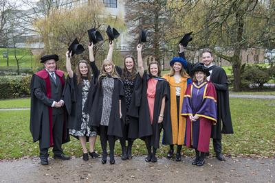 The first graduating cohort for MRes Wildlife Conservation!