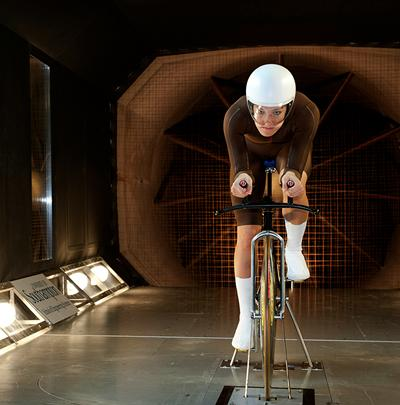 Our R. J. Mitchell Wind Tunnel was used by British athletes