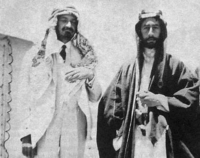 Weizmann and Feisal, 1918