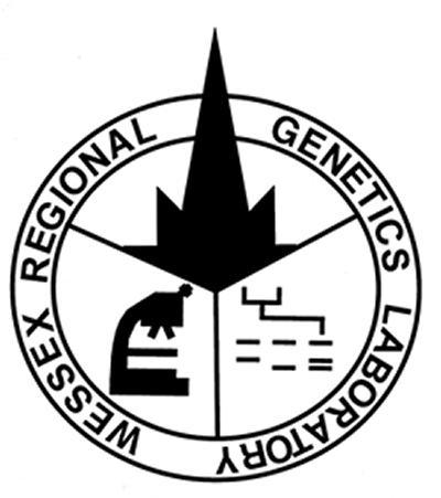 Testing is performed at the Wessex Regional Genetics Laboratory in Salisbury