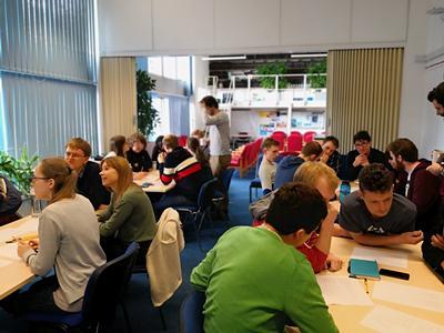 Maths and Mingle meetings