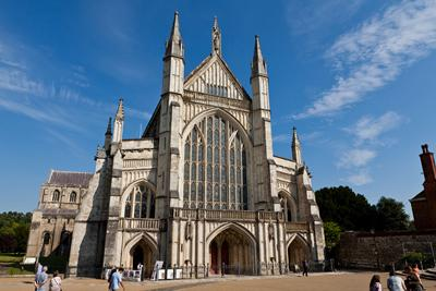 Winchester Cathedral is a 5 minute walk from the Winchester School of Art.