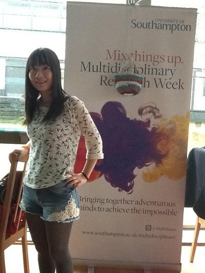 Jue Zhang Lead Design Volunteer from Winchester School or Art