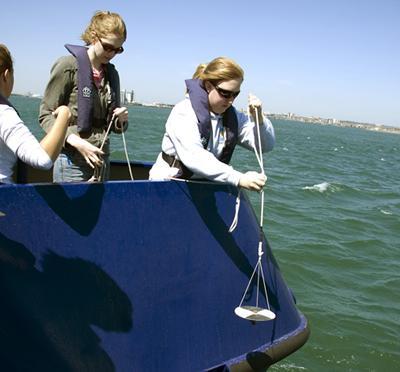 Hands-on activities aboard RV Callista