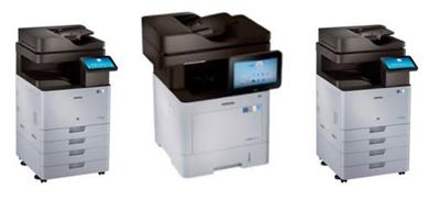 Our new fleet of Samsung printers