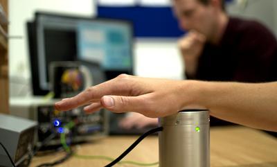 Testing sound vibrations