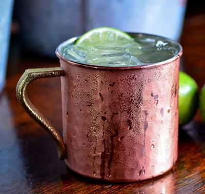 Moscow Mule Mocktail