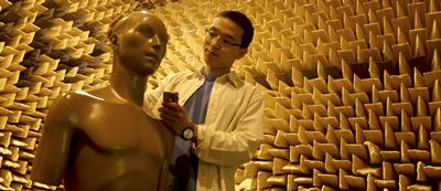 We have one of the largest anechoic chambers four auditory and acoustic research in the UK
