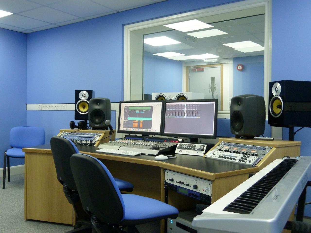 One Of Two New Studios Housed In The Department High Resolution