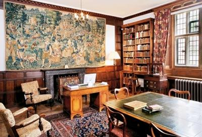 Chawton House Library reading room