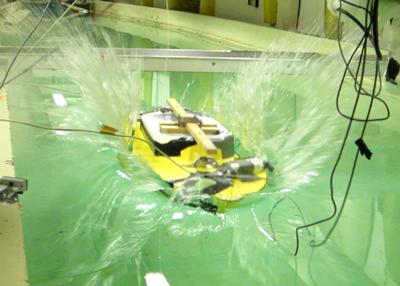 Drop tests using a commercially available tactile pressure sensor