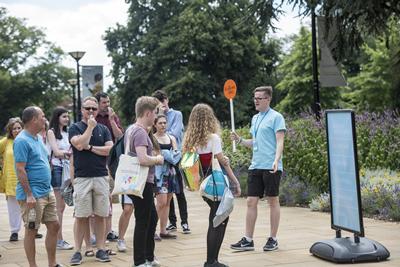 A campus tour