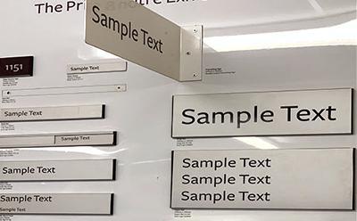 example door signs