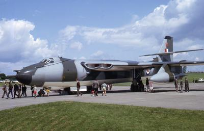 Vickers Valiant aircraft