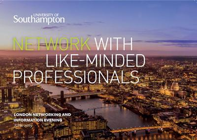 London Networking and Information Evening invite