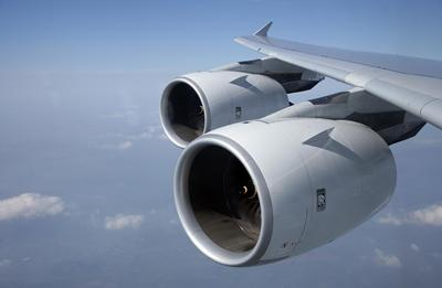 Our research has helped to reduce aircraft engine noise