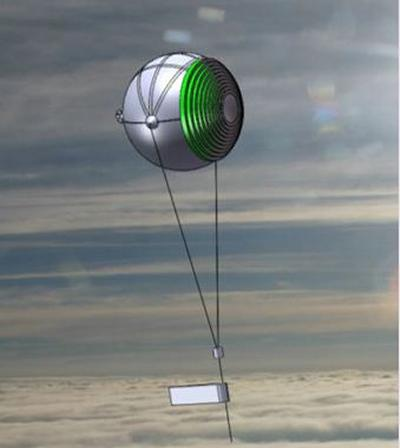 Preliminary Aerosat design for power generation