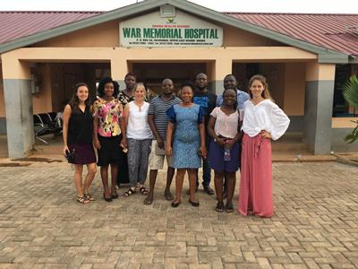 INPreP International research group in Navrongo, Ghana