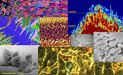 Materials microstructures and microfeatures