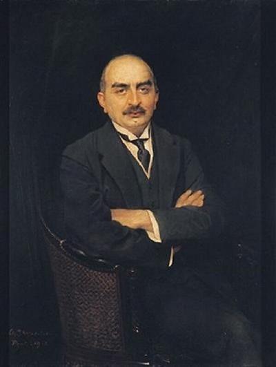 Portrait of Mr Gulbenkian