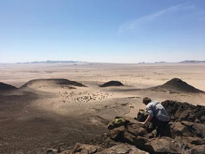 Fieldwork, southern Namibia