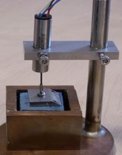 CTE measurement rig