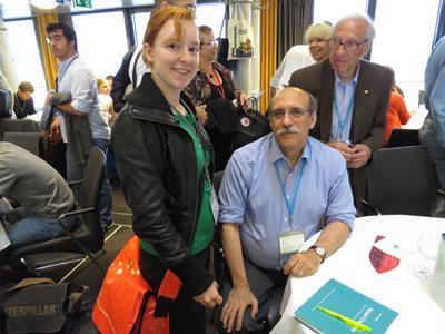 With Nobel Prize winner Professor Martin Chalfie