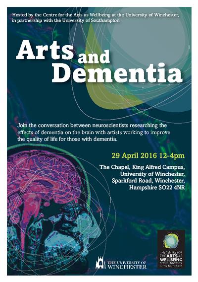 Arts and Dementia Poster