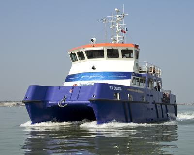Our research vessels are used for fieldwork and research