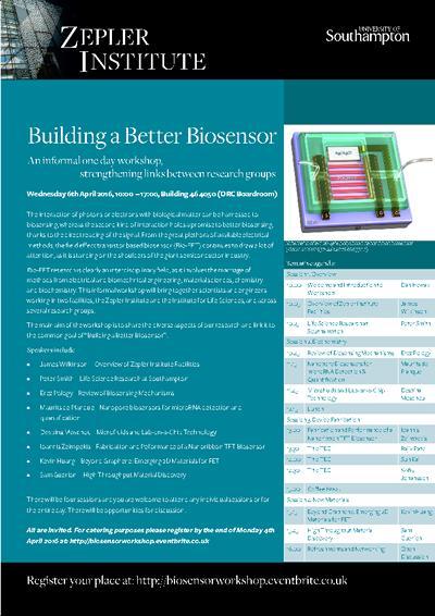 Biosensors Workshop Poster