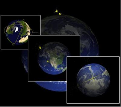 Simulating the collision of in 2009 of the US Iridium satellite and a defunct Russian satellite