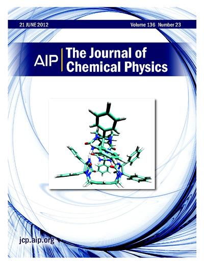 J. Chem. Phys. Front Cover