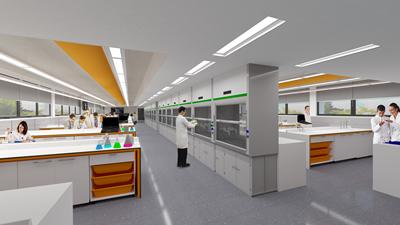 Artists impression of the new lab facilities