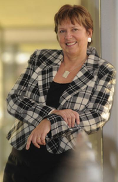 Professor Dame Wendy Hall is the fourth highest placed woman in the Top 100