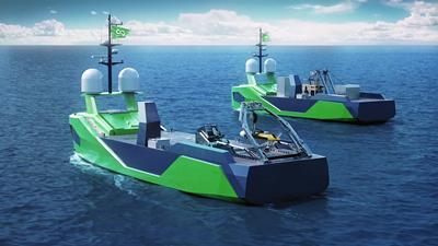Ocean Infinity Armada Fleet