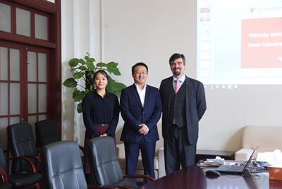 Professor Filippo Lorenzon and Dr Meixian Song