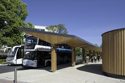The Unilink transport interchange is a major transport hub