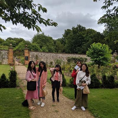 Students at Chawton House