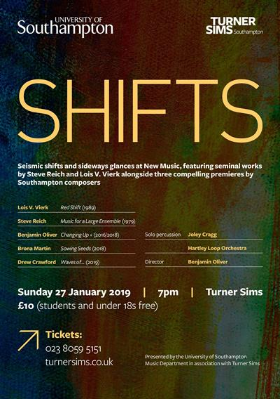 SHIFTS Flyer